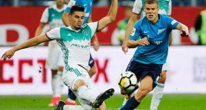 Akhmat Grozny de Wilker Ángel cae goleado ante el Zenit