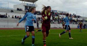 Deyna Castellanos conduce a Venezuela a la victoria sobre Uruguay