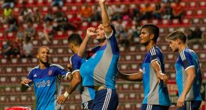 Giovanny Romero conduce a La Guaira con un gol muy especial