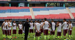 La Selección Sub-20 prepara los amistosos ante Colombia