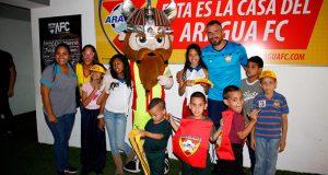 Proyecto social del Aragua Fútbol Club sigue cumpliendo sus propósitos