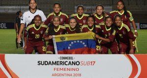 La Vinotinto Femenina igualó en su debut en el Sudamericano S17