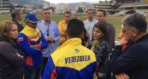 Equipos de Primera se reunieron con Pedro Infante  sobre la recuperación del Brígido Iriarte