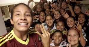 Vinotinto femenina S-17 vence a Uruguay y peleará boleto al Mundial