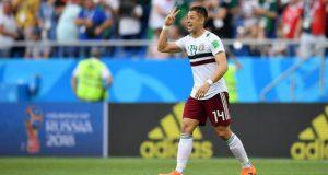 """'Chicharito': """"Ahora a derrotar a Suecia y a ganar el grupo"""""""