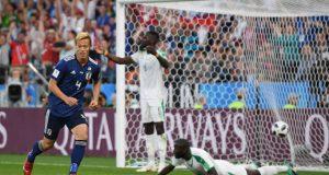 Japón y Senegal se anulan en un hermoso partido
