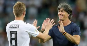 Löw, feliz con su equipo y por suerte de Kroos
