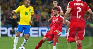 Neymar, a fuego lento