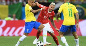 Brasil se atasca ante Suiza