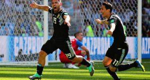 Agüero acaba con la sequía argentina después de 341 minutos sin gol