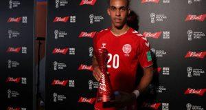 Yussuf Yurary Poulsen mejor jugador del partido