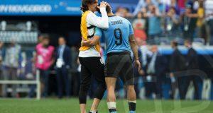 """Suárez: """"La baja de Cavani ha sido esencial para Uruguay"""""""