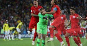 Inglaterra clasifica en penales a los cuartos de final