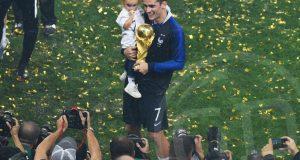 Griezmann: «Ganar un Mundial es algo gigante»