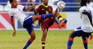 La Vinotinto Sub-21 venció a Haití y clasificó a la semifinal