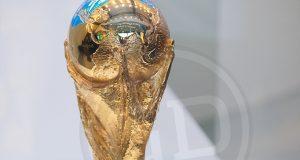 [ESPECIAL] +FOTOS | ¡Así luce Venezuela en el trofeo de la Copa del Mundo!