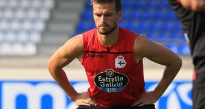 Christian Santos novedad en la sesión del Deportivo