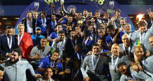 +FOTOS | Gelmin Rivas anota y se corona campeón de la Supercopa de Arabia Saudita