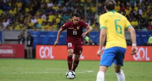 Arquímedes Figueira se pierde el resto de la Copa América por lesión
