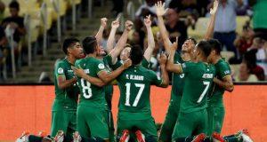 Bolivia entrenó en Belo Horizonte con recuperación para titulares ante Perú