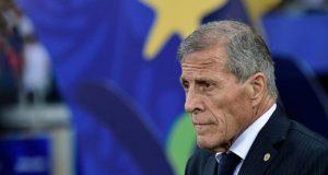Tabárez elogia el comportamiento de la defensa de Venezuela frente a Brasil