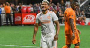Josef Martínez anota doblete en goleada del Atlanta United
