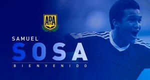 Samuel Sosa llega cedido al Alcorcón