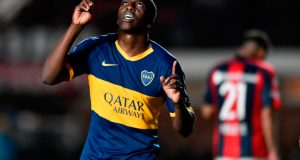 +FOTOS | Jan Hurtado anota su primer gol con Boca Juniors