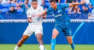 Yordan Osorio debuta con el Zenit en la Champions