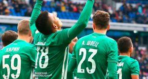 Andrés Ponce anota en empate del Akhmat Grozny