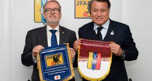 FVF y JFA firman acuerdo de cooperación