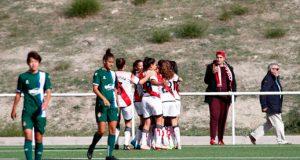 Oriana Altuve anota en victoria del Rayo Vallecano