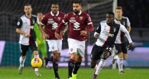 Torino de Tomás Rincón cae ante Juventus