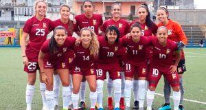 La Vinotinto Femenina igualó a un gol con el Napoli