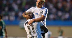 Yeferson Soteldo brilla en el Santos