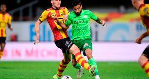 Ronald Vargas, titular en derrota del Oostende