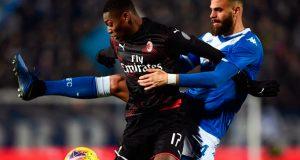 Brescia de Jhon Chancellor cae ante el Milan
