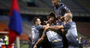 +FOTOS | Caracas FC pintó de Rojo la ciudad de Medellín