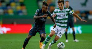 Jhon Murillo fue titular en derrota del Tondela ante el Sporting